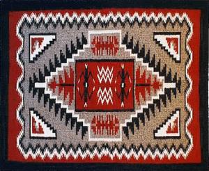 navajo weave thumb