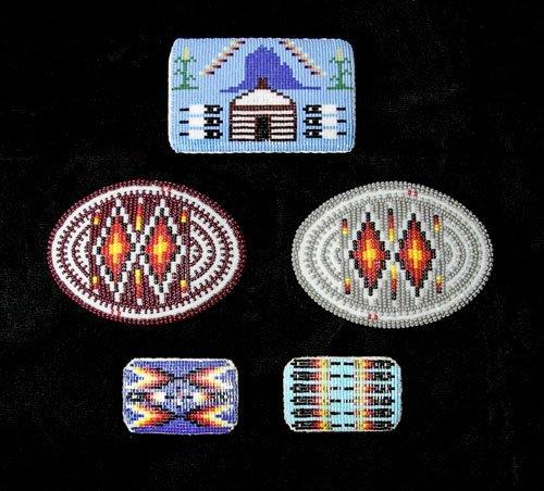 IMGP0533 - Navajo Bead Buckles