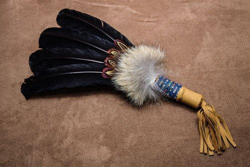IMGP0053 Navajo Turkey Feather Dance Fan